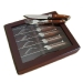 Exec knife and fork set in Prestige Box